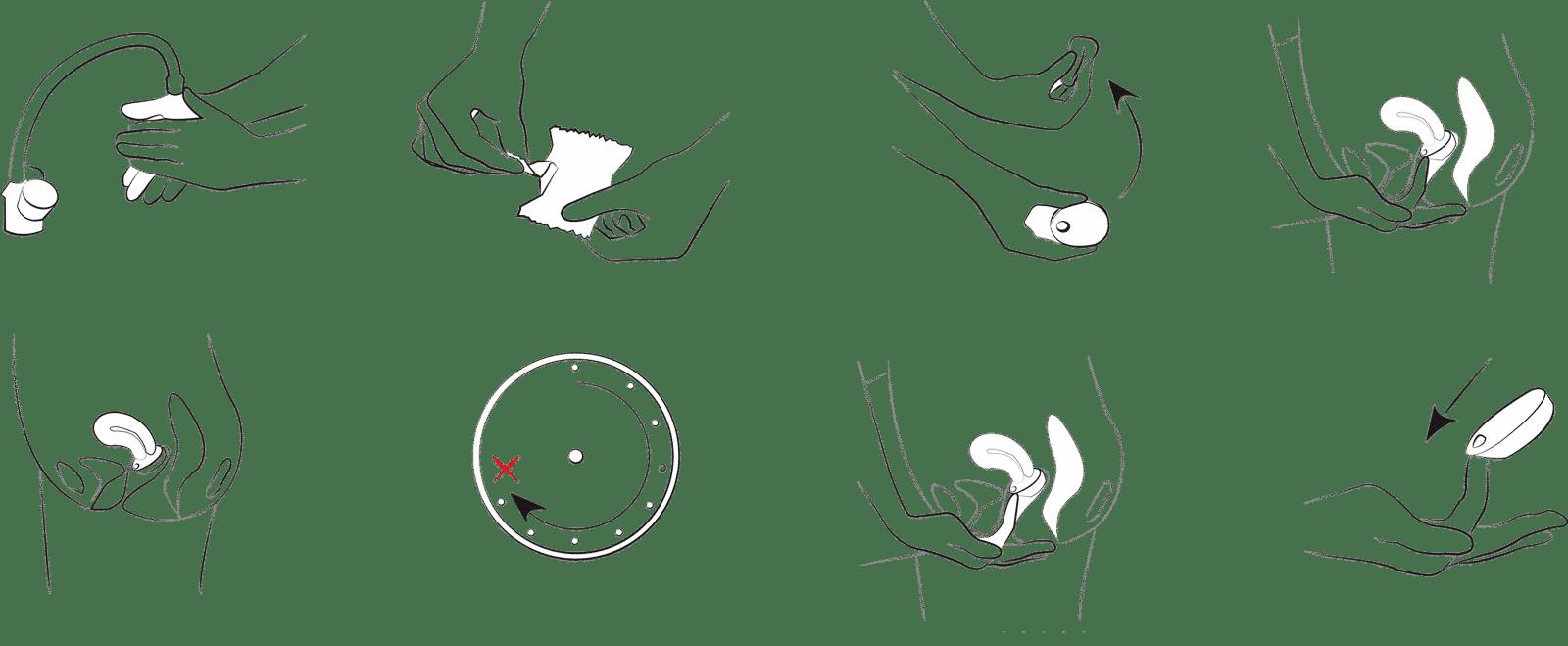 tampony do seksu, Tampony Beppy – tampony do seksu podczas okresu, Kubeczek menstruacyjny BEPPY CUP i Tampony BEPPY