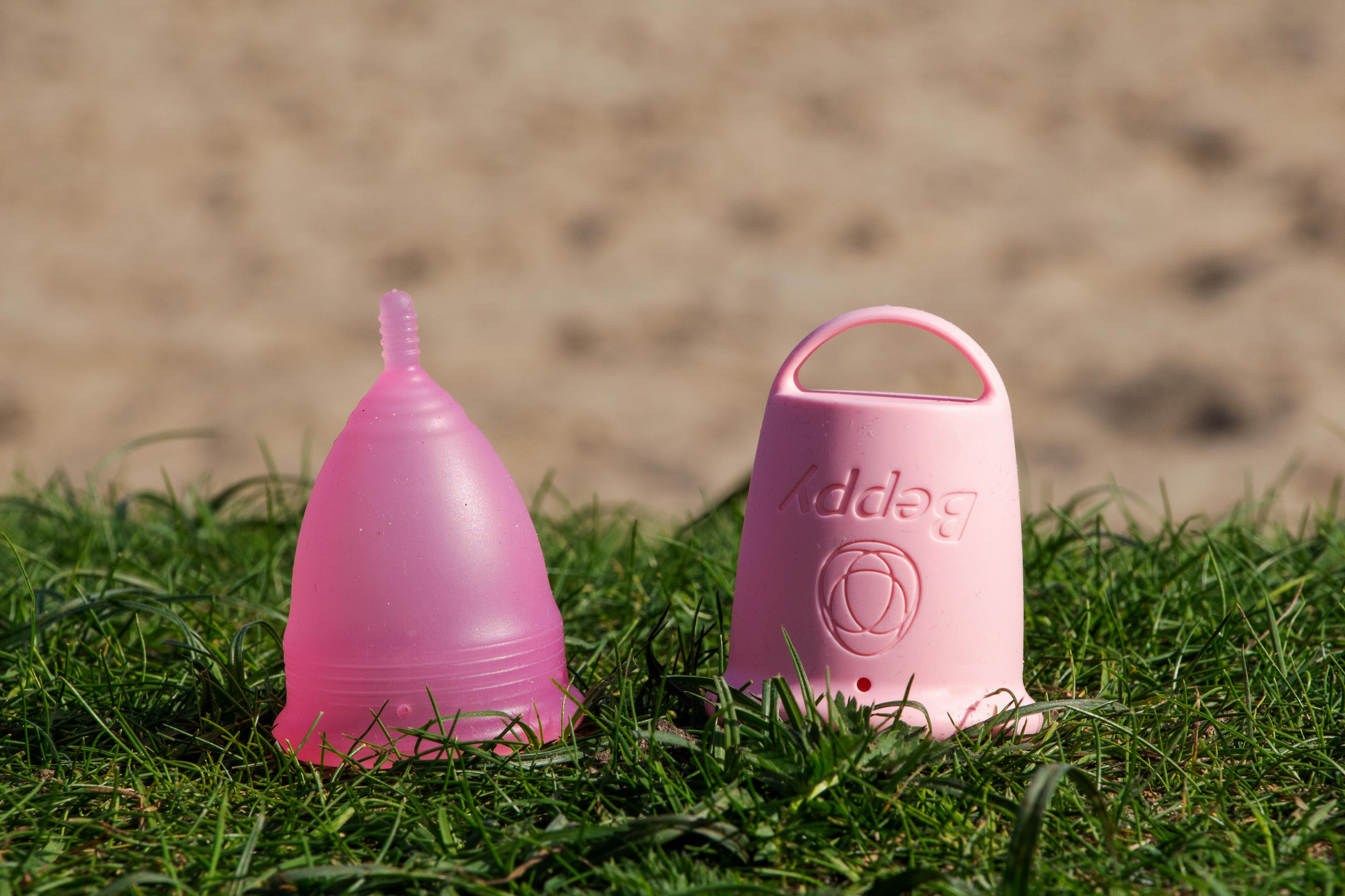 kubeczek menstruacyjny, Kubeczek menstruacyjny Beppy Cup, Kubeczek menstruacyjny BEPPY CUP i Tampony BEPPY